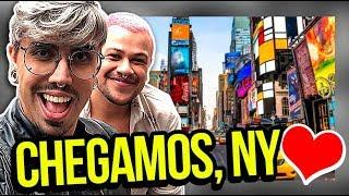 VLOG - CHEGAMOS EM NOVA YORK | Diva Depressão