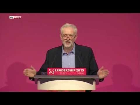 Jeremy Corbyn Leadership Victory Speech - UK Labour Party 2015