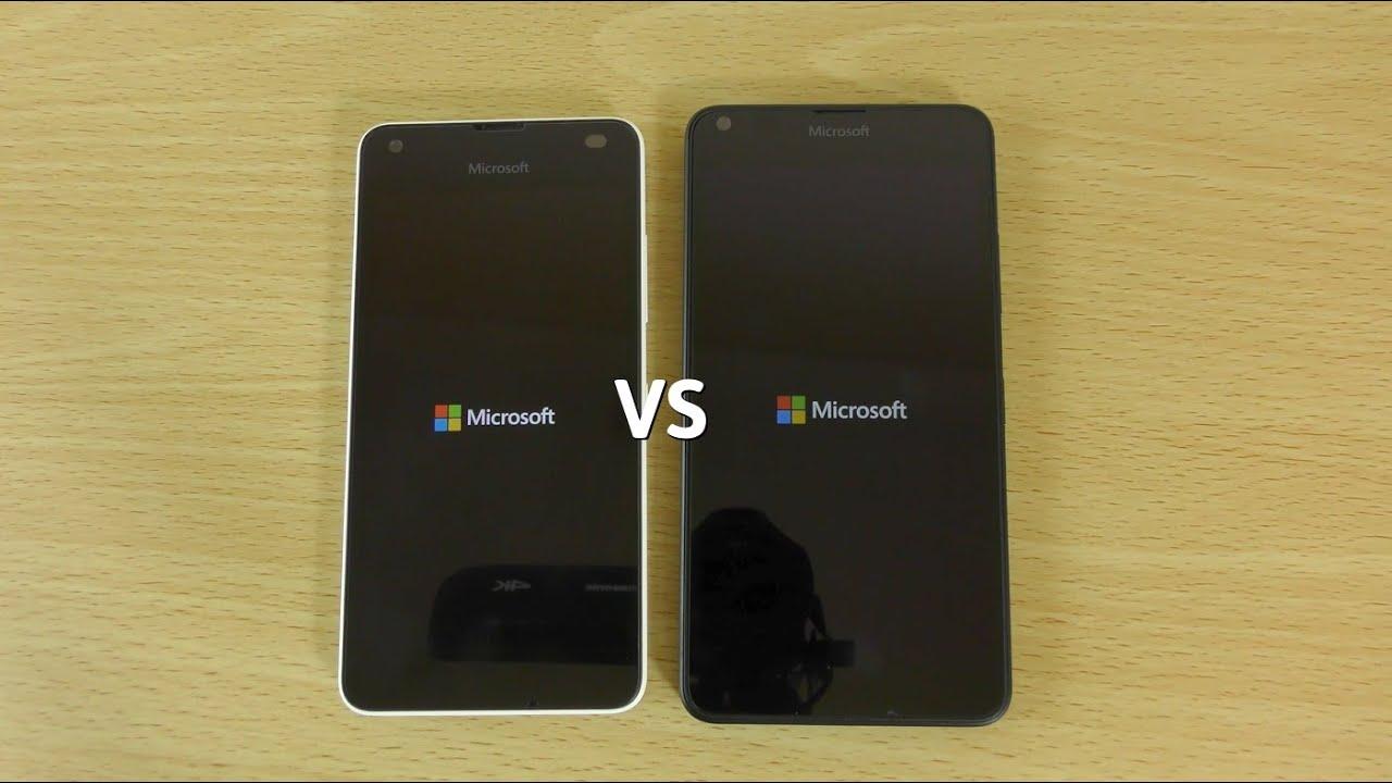 Lumia 650 Vs Lumia 640XL, Speed Comparison - YouTube