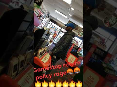 GUY FREAKS OUT AND THROWS A TANTRUM AT GAMESTOP OVER FALLOUT 76 (POLICE CALLED)