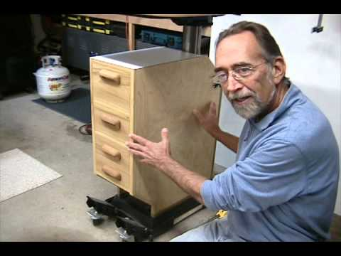 DTEW Drill Press Cabinet.mov - YouTube
