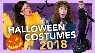 4 Last Minute Halloween Costumes for 2018