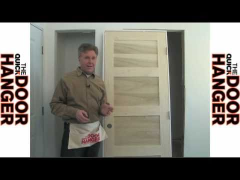 How To Hang Install Interior Pre Hung Door Youtube