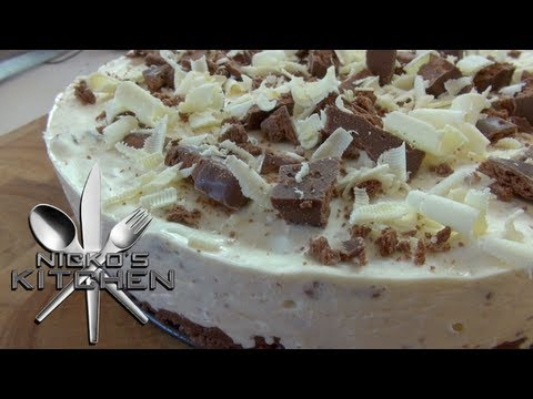 TIM TAM CHEESECAKE - Nicko's Kitchen
