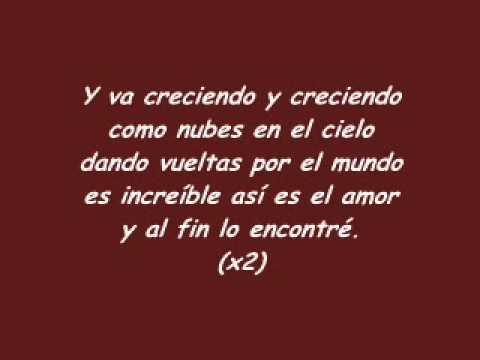 Tito el Bambino-El Amor Letra