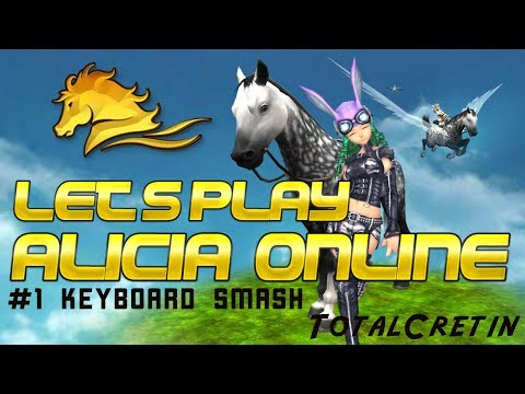 LET'S PLAY ALICIA ONLINE #1 KEYBOARD SMASH