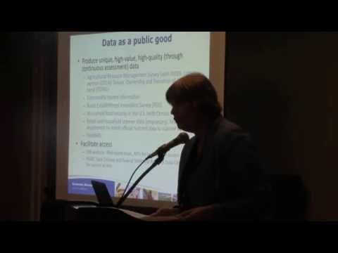 Priorities & Solutions: Mary Bohman, USDA ERS, Agricultural and Applied Econ Research Ecosystem