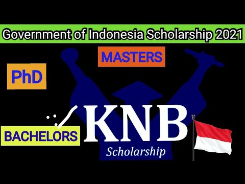 100% Government of Indonesia Scholarship 2021 | How To Apply For The Scholarship |