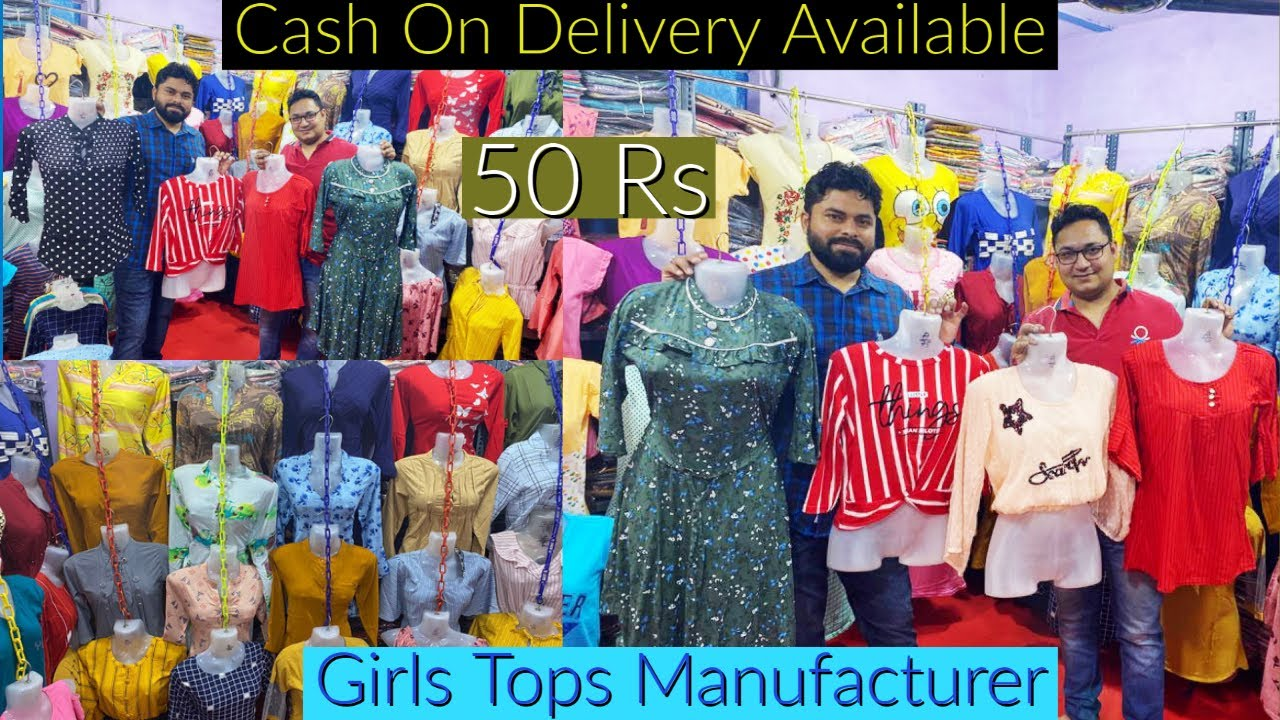 50 रूपये से शुरू | Cash On Delivery Available | Imported A1 Quality | Tops Manufacturer in Delhi