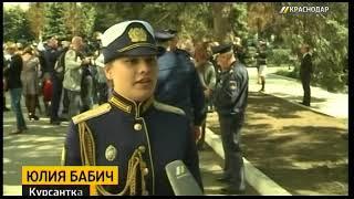 Курсантки Краснодарского авиаучилища приняли присягу