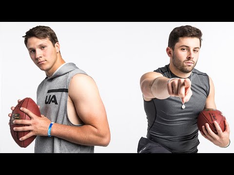 Baker Mayfield & Josh Allen Put on a Show for Workouts! | NFL Combine Highlights