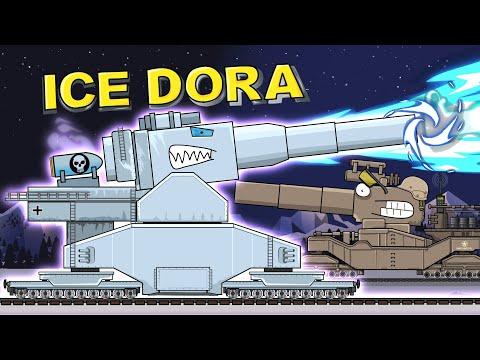 """Monster Ice Dora"" - Cartoons about tanks"