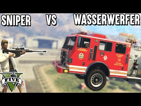 WASSERWERFER VS SNIPER - NO SCOPE CHALLENGE (Grand Theft Auto 5)