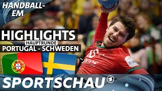 Portugal deklassiert Schweden   Spielbericht   Handball-EM   Sportschau
