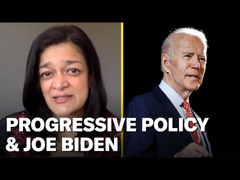 Can Joe Biden Be a Progressive President? | Pramila Jayapal Pod Save America Interview