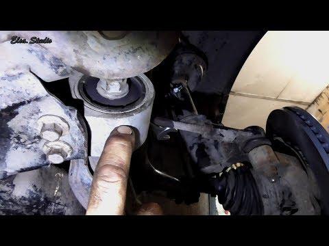Замена сайлентблоков переднего рычага Chevrolet Captiva