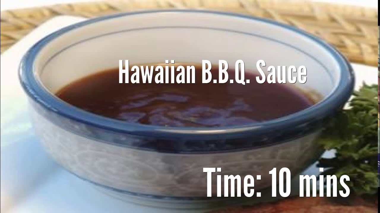 recipe: hawaiian bbq sauce recipes [25]