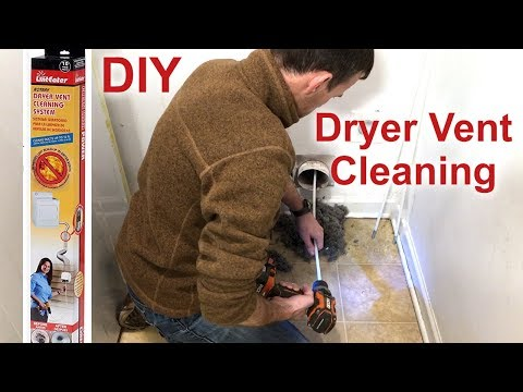 How to Clean a Dryer Vent DIY Kit