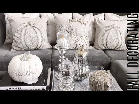 GLAM FALL DECORATING IDEAS! 😍🍁