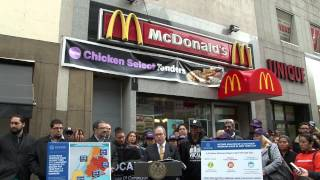 Comptroller Stringer's Income Analysis of a $15 Minimum Wage in NYC