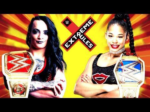 WWE 2K18 EXTREME RULES MATCH CARD TOMORROW ON MY CHANNEL