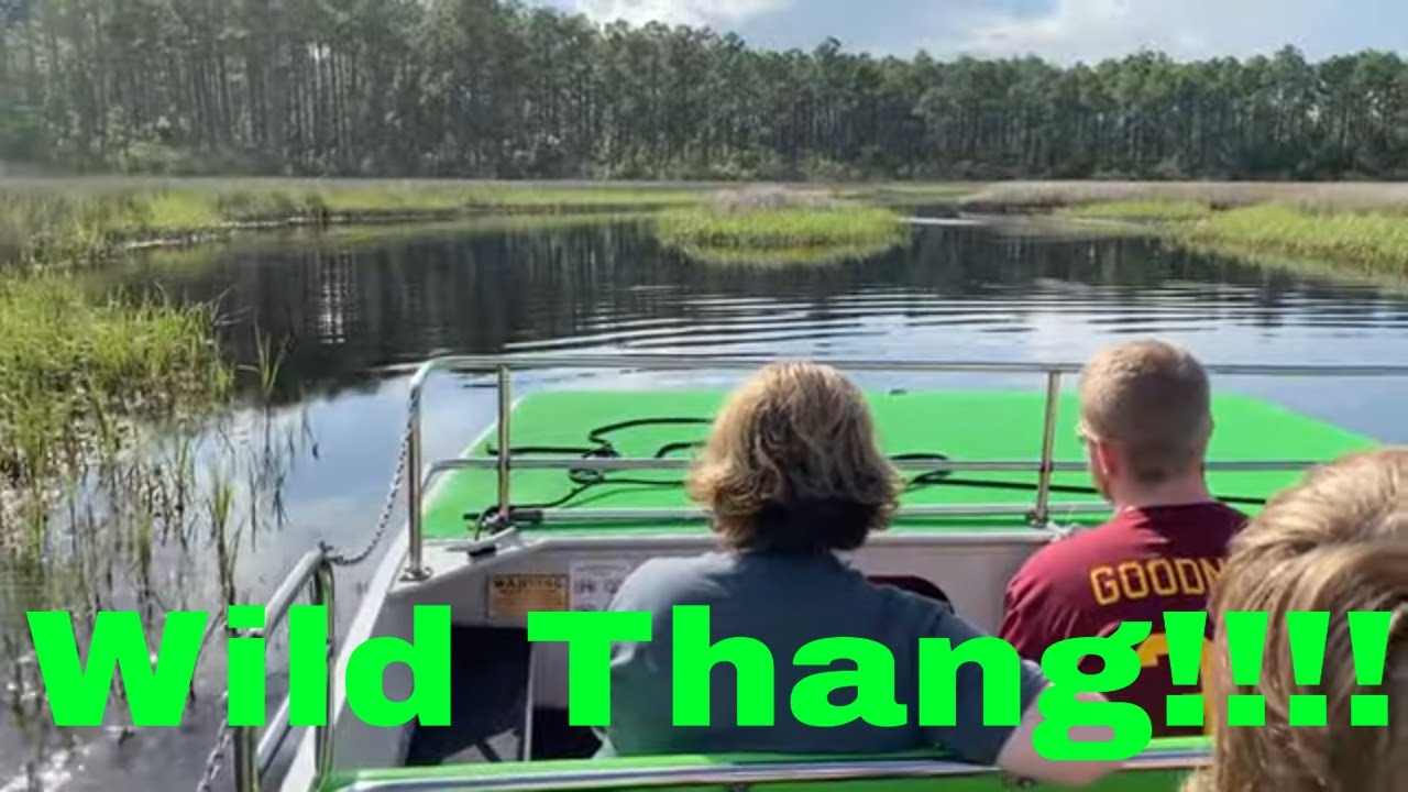 Wild Thang Airboat Tours In Panama City