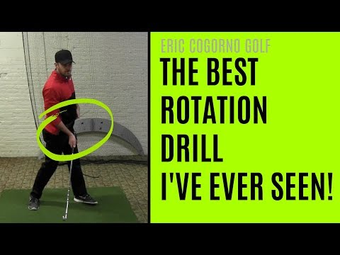 GOLF: The Best Rotation Drill I've Ever Seen!
