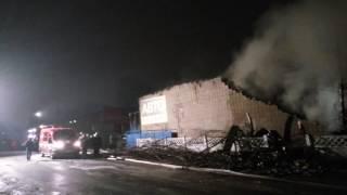 Пожар на Лынькова в Минске