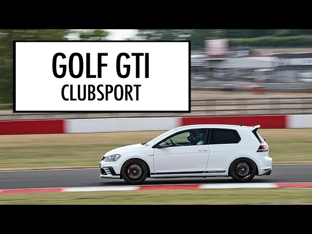 ADS Golf GTI clubsport at Donnington Park