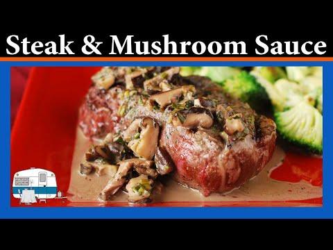 How I make Beef Tenderloin with Mushroom Sauce