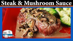 How I make Beef Tenderloin with Mushroom Sauce