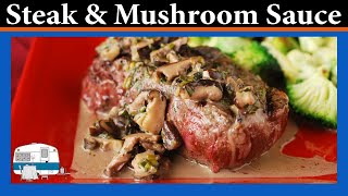 Beef Tenderloin With Mushroom Sauce - White Trash Cooking