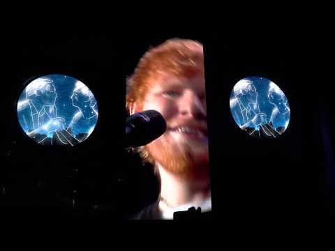 Ed Sheeran - Thinking Out Loud- 8/26/2018 Centurylink Field Seattle WA