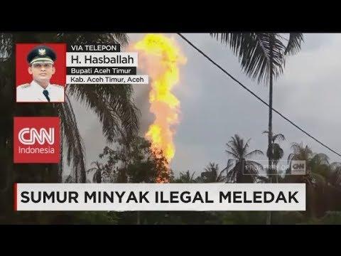 Bupati Aceh Timur: Sedikitnya 16 Orang Tewas & 35 Luka-luka - Sumur Minyak Ilegal Meledak