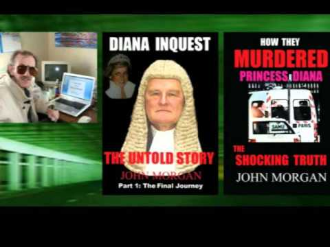 One of final interviews before death of Princess Diana assassination author John Morgan