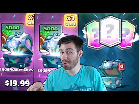 OPENING x32 NEW CHEST OFFERS! | Clash Royale | SO MANY LEGENDARY CHEST OPENING!