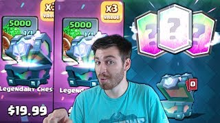 OPENING x32 NEW CHEST OFFERS!   Clash Royale   SO MANY LEGENDARY CHEST OPENING!