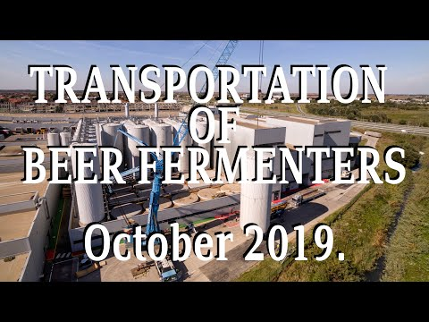 Holleman Serbia - Transportation Of Beer Fermenters To Italy 2019.
