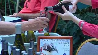 Concord Gourmet Chocolate Festival chocolate & wine pairing