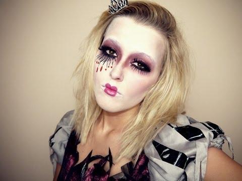 Halloween Schminke Dm.Halloween Zombieprinzessin Youtube