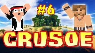 CRUSOE - Ep. 6 - Construction sur pilotis - Fanta et Bob dans Minecraft