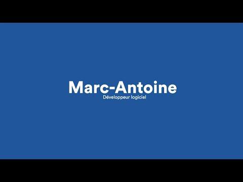 Rencontrez la crew: Marc-Antoine