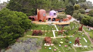 Watch: Town tells Flintstones house owner they Yabba Dabba Don't like it