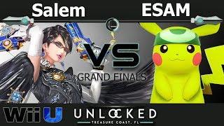 MVG Salem (Bayonetta) vs. PG ESAM (Pikachu) - Wii U Grand Finals - UNLOCKED