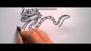 cách vẽ rồng đơn giản và đẹp