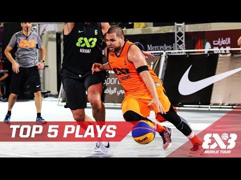 Top 5 Plays Day 1 - Abu Dhabi Final - 2016 FIBA 3x3 World Tour