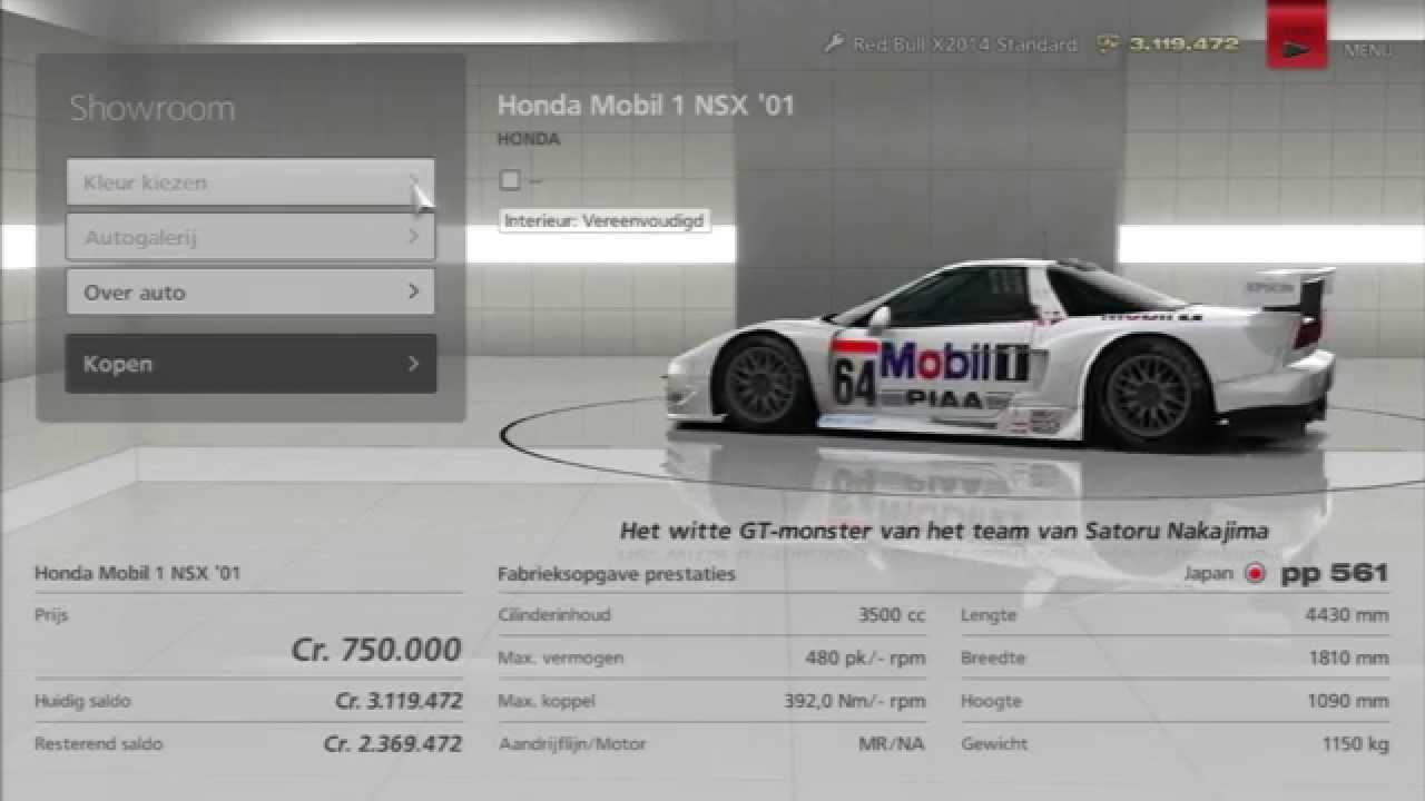 Mobil 1 Nsx: Honda Mobil 1 NSX '01