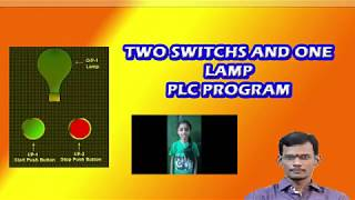 PLC Tutorial- Two input and one output program- Ladder logic