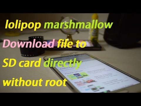 how to make sd card writable in marshmallow