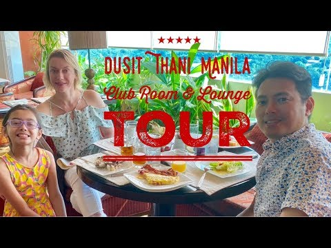 Dusit Thani Manila Tour and Review | Club Room | Club Lounge | Breakfast | Pool Happy Hour